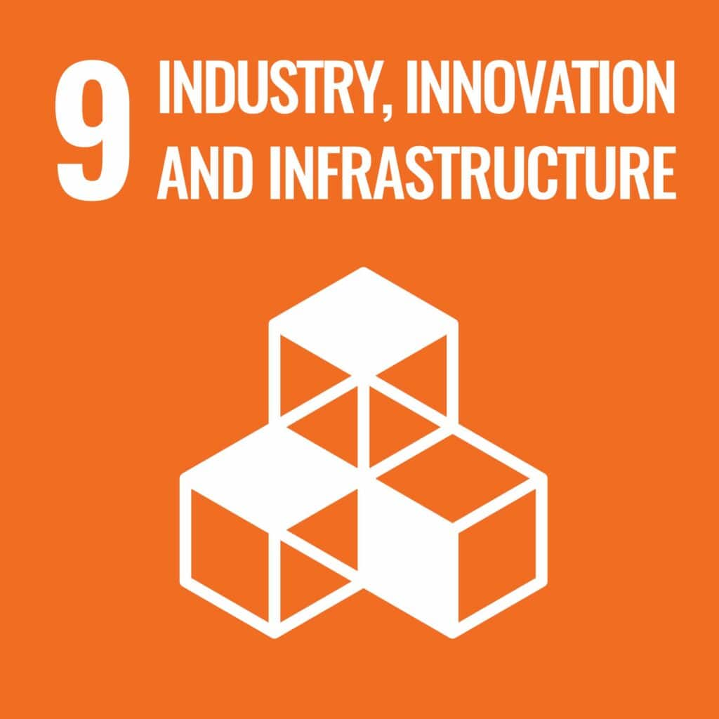 Industry, Innovation, and Infrastructure is the 9th SDG.